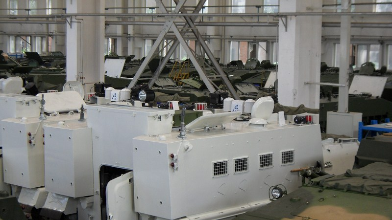 armored vehicle telescopic mast (2)