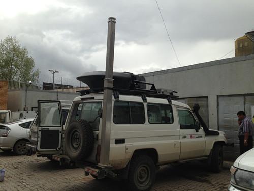 military purpose mast