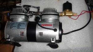 vehicle mounted air compressor