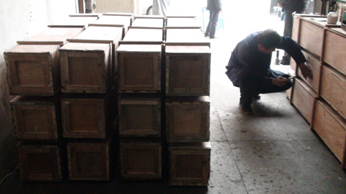 wooden crate for shipping