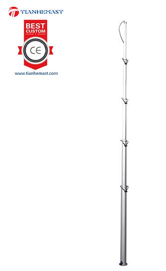 CCTV Camera Telescopic Pole for mobile security