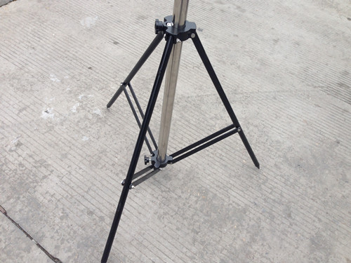 Stainless Steel Telescopic Mast With Tripod Stand For