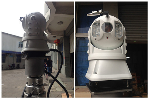 Mobile Military Dome Camera Surveillance System