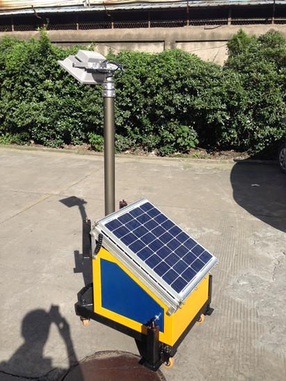 Mobile Solar Led Light Tower