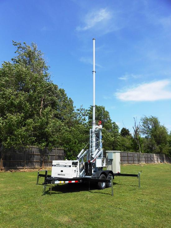 拖车式移动信号塔