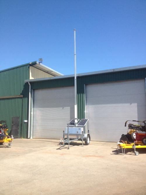 澳大利亚公司移动拖车通讯