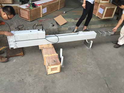 8 meter screw motorized mast