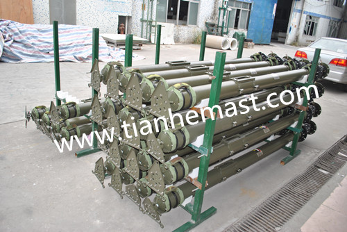 carbon fiber telescopic pole