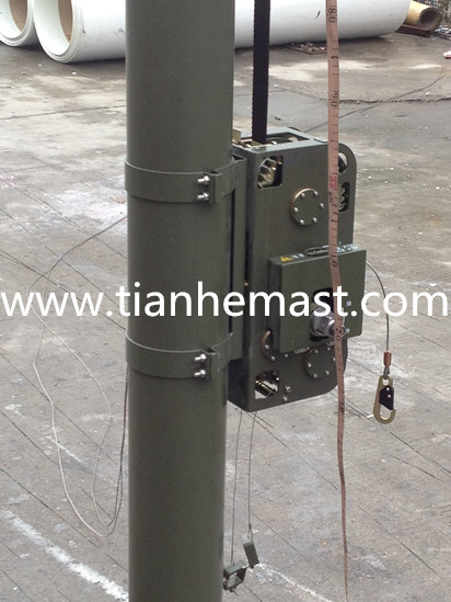 comrod telescopic mast