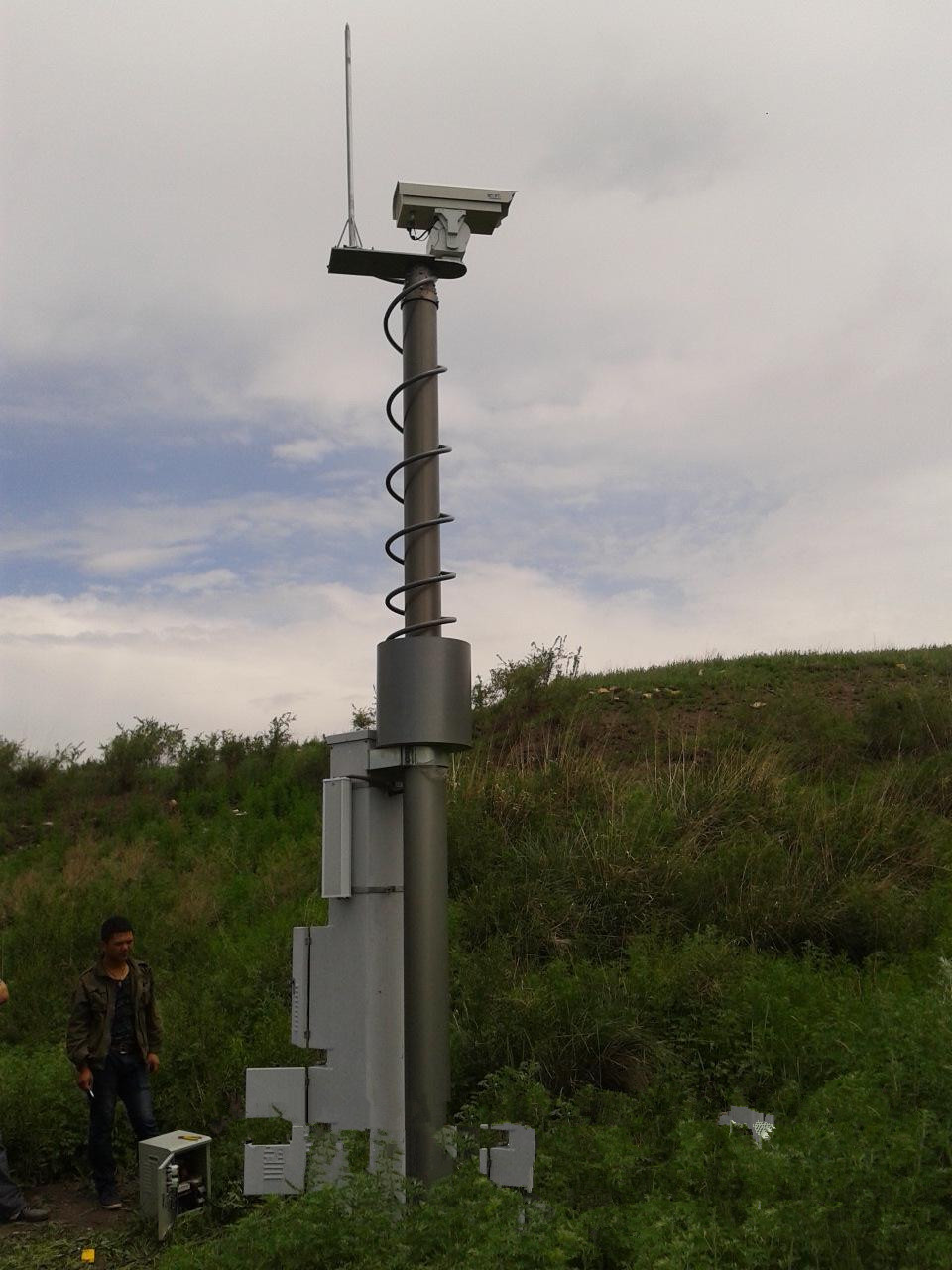 border security tower system unit