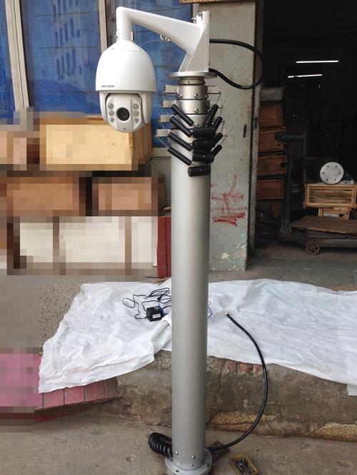 Mobile Security Cctv Telescopic Mast System